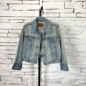 Levi's Vintage Denim Cropped Jacket 1217